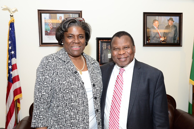 Honorable Linda Thomas-Greenfield Speaks at First 2014 Ambassador Andrew Young Lecture Series