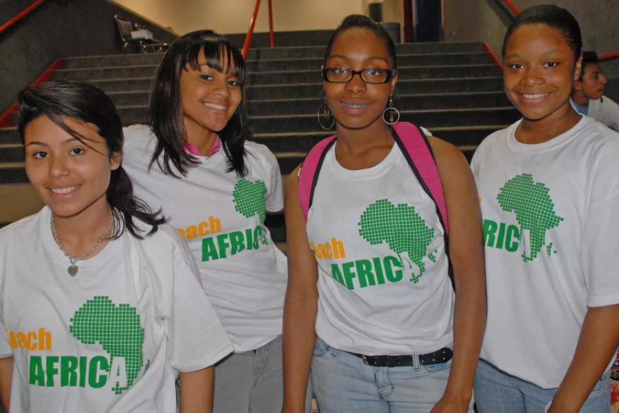 Teach Africa Brings DC High School Students and South Africa, Ghana and the Democratic Republic of Congo Students Together