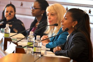 The Africa Society's Bernadette Paolo Moderates Panel During Growth & Opportunity in Africa Forum at U.S.-Africa Leaders Summit